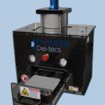 pneumatic press for die-cutting specimen dies