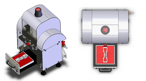 Benchtop Press Illustration