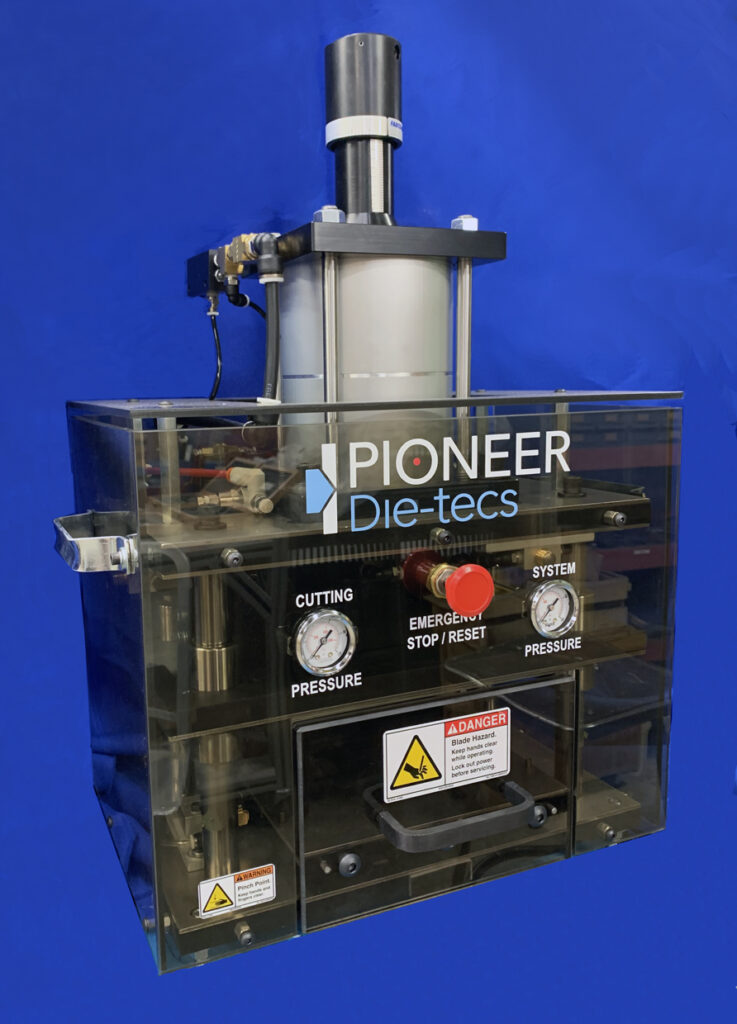 Pioneer-Dietecs die-cutting press 400