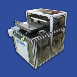 semic-automatic cleanroom die-cutting press
